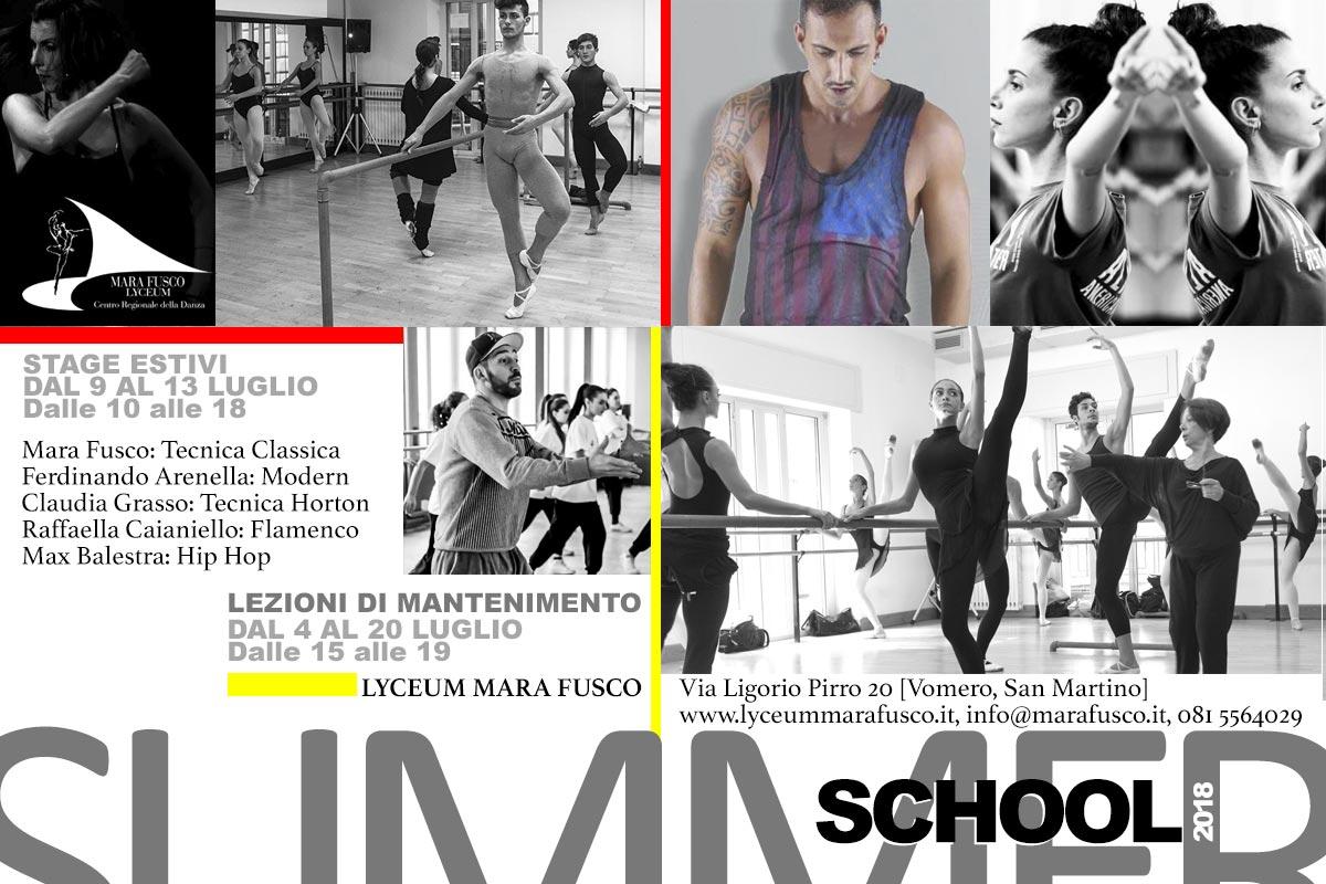 Scuola Estiva Di Danza E Lezioni Di Mantenimento A Napoli